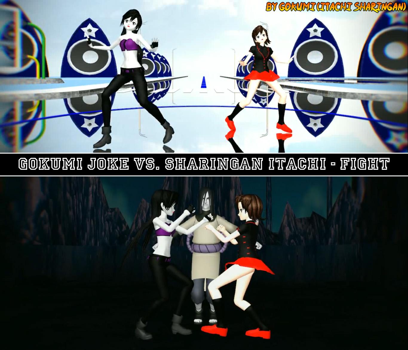 Joke vs. Itachi - Fight + VIDEO LINK by Gokumi