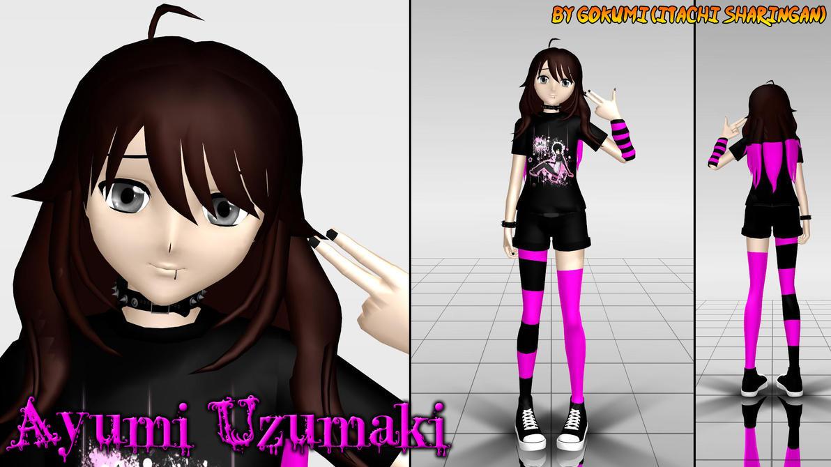 Ayumi Uzumaki + BIO by Gokumi
