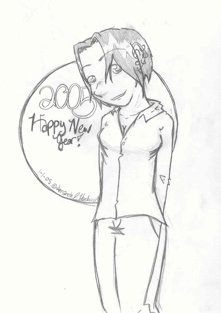 Happy New Year by uriko