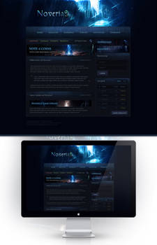 Noveria2 Webdesign