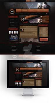 Revenge Of Paranoia Webdesign