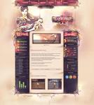 Lysania II Webdesign