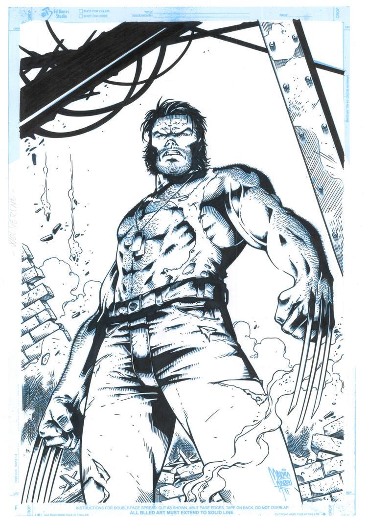 Wolverine by JonnydelaFuente