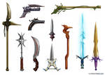 Fantasy Weapon Designs