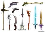 Fantasy Weapon Designs