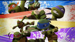 TMNT 2012 : OUCH!