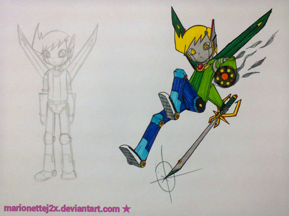 Voltron Jimmy by MarionetteJ2X