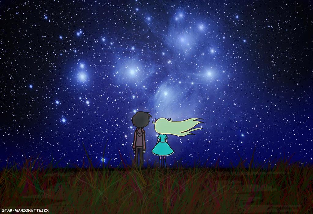 SVTFOE - Starry Night by MarionetteJ2X