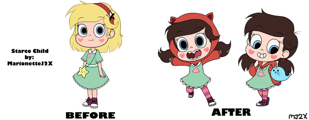 Starco Child - Redesigned 1 by MarionetteJ2X