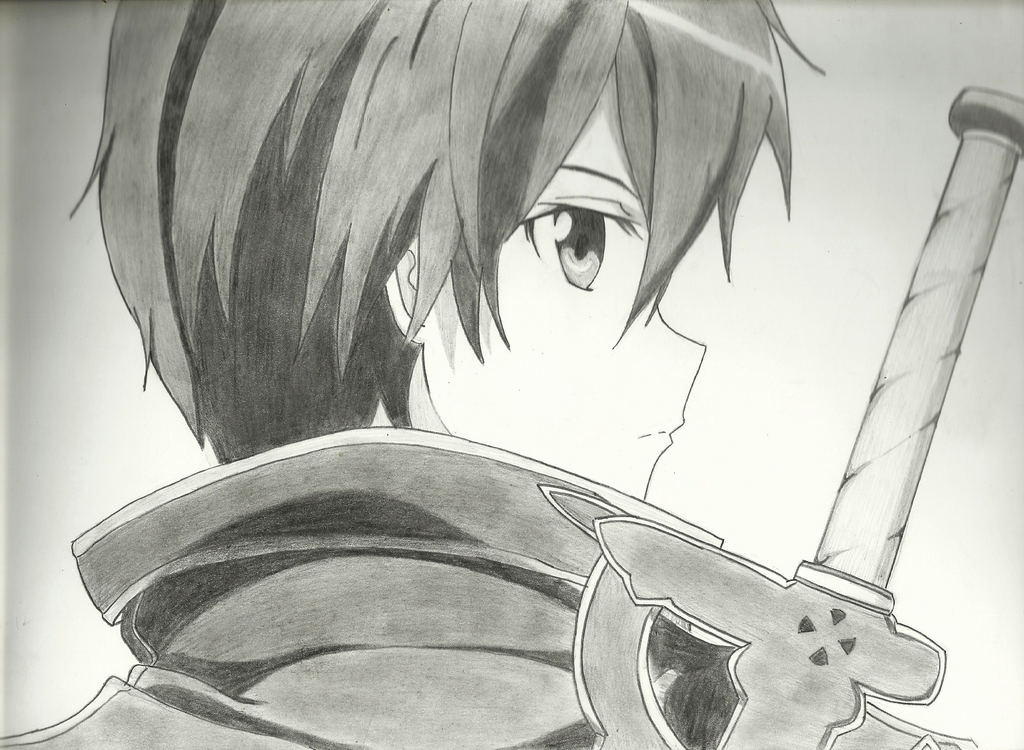 Kirito (Kazuto Kirigaya) SAO ver by Setsuna-aRT