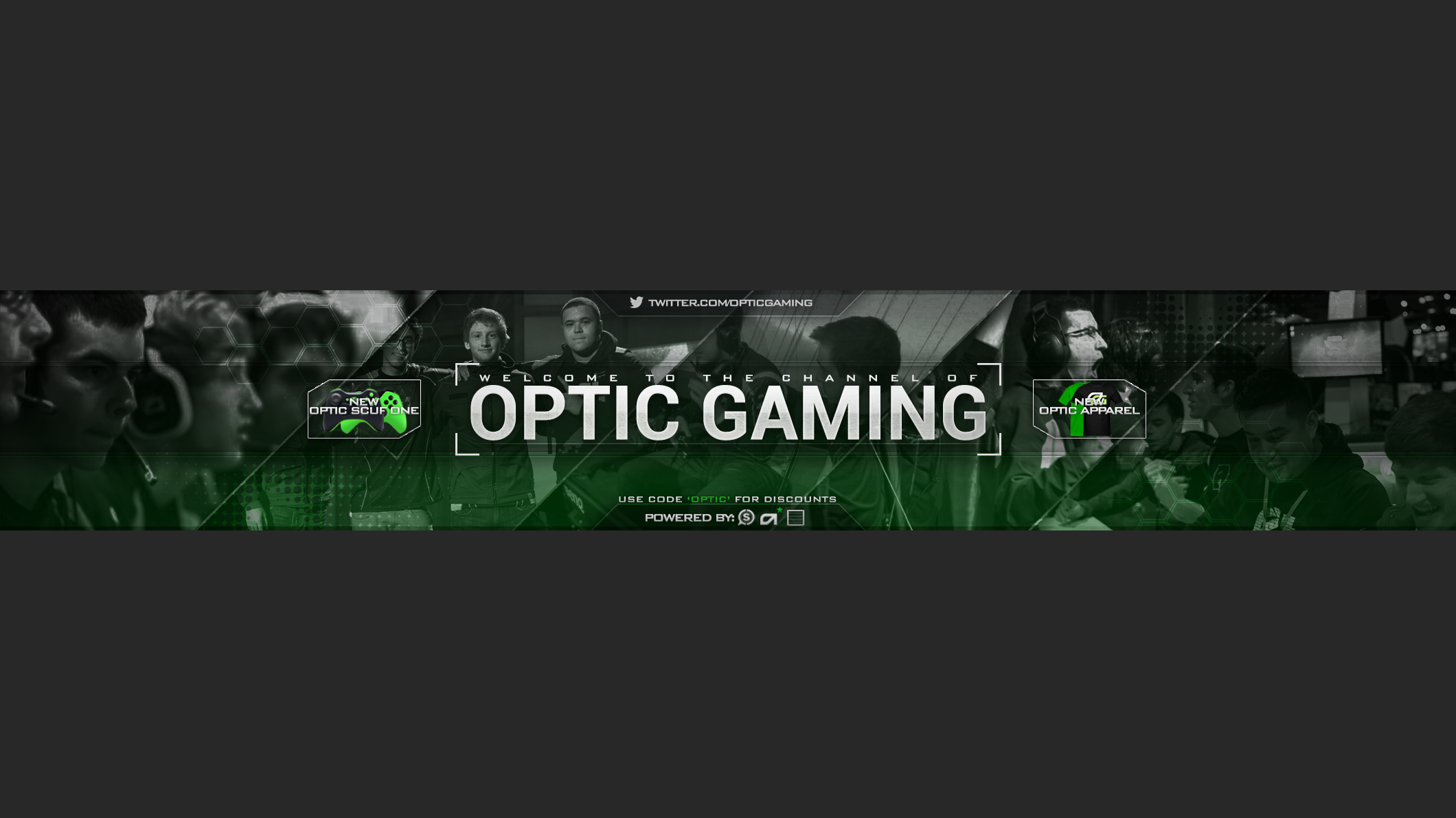 OpTic Gaming Banner by Speqs on DeviantArt