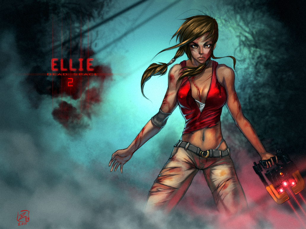 Ellie Dead Space 2 By Zigan
