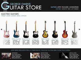 Guitar store by Myrloenn