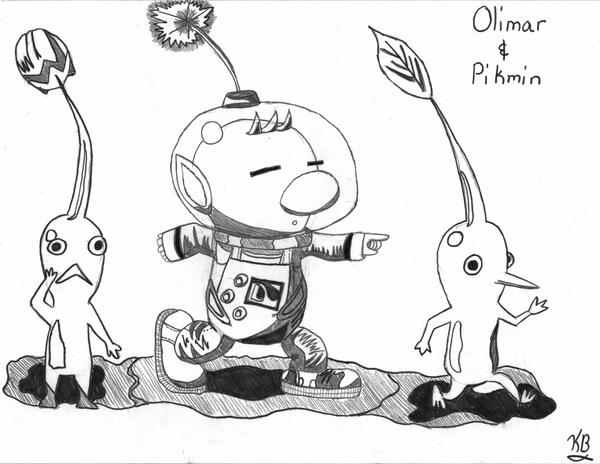 pikmin bulborb coloring pages - photo#11