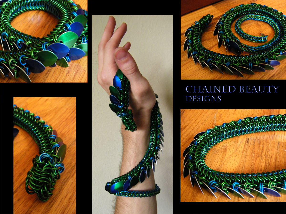 Chainmail Dragon By Chainedbeauty On Deviantart