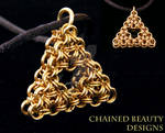 Chainmaille Triforce