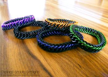 Stretchy Bracelets 2 by ChainedBeauty
