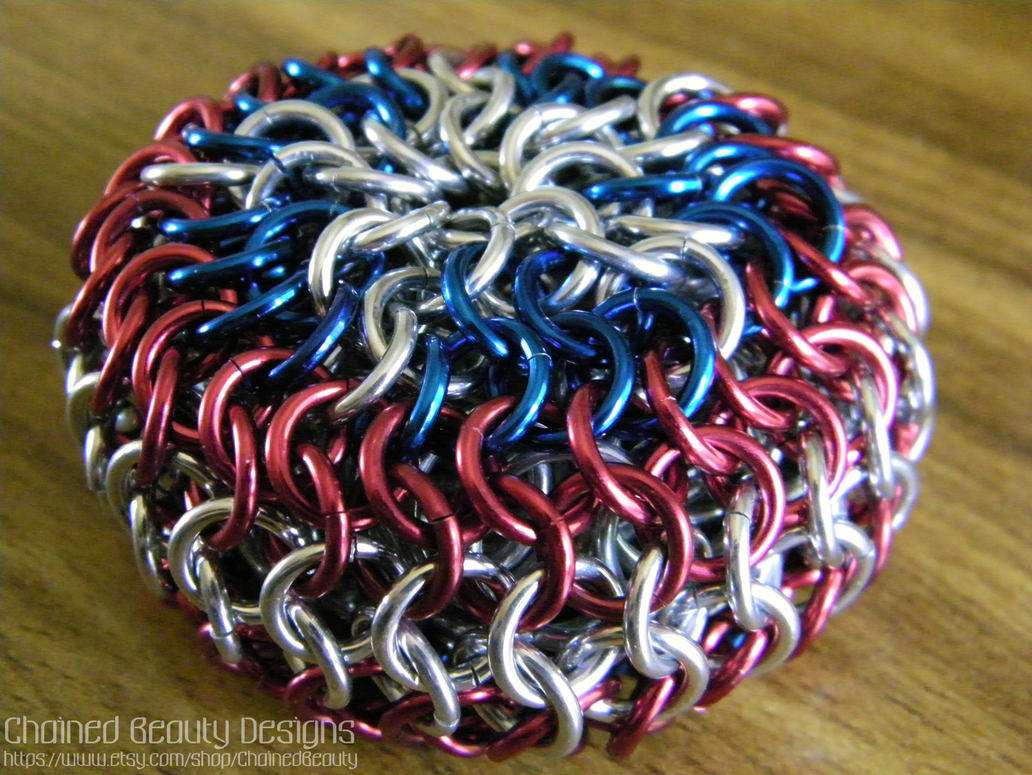 merica chainmaille footbag by chainedbeauty on deviantart