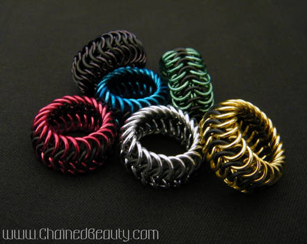Stretchy Euro 6-in-1 Rings