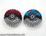 Pokeball Chainmaille Footbags