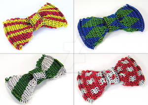 Chainmail Bow Ties