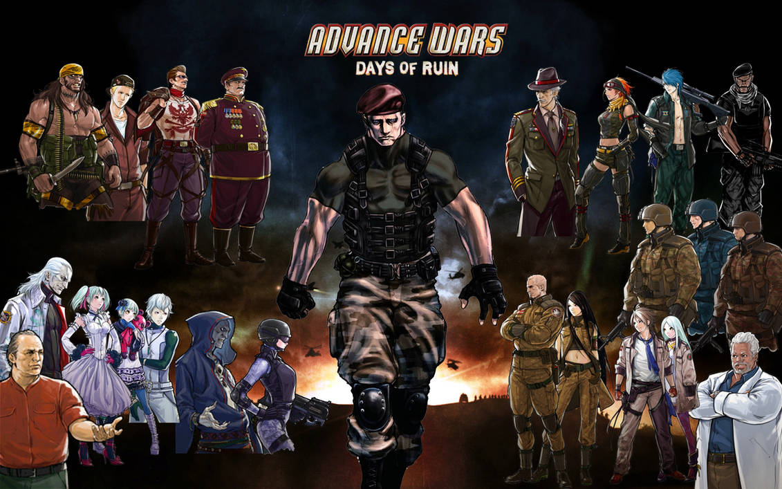 Advance Wars: Days of Ruin Cha...
