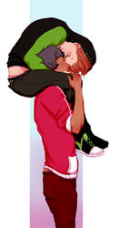 [SOS] Hubae Kisses by z-e-t-w-a-l