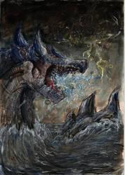 Lagiacrus storm by Yufika