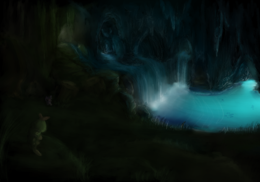 In the caves by Yufika