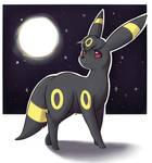 Priya under the full moon
