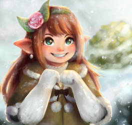 Winter Rose by Yufika