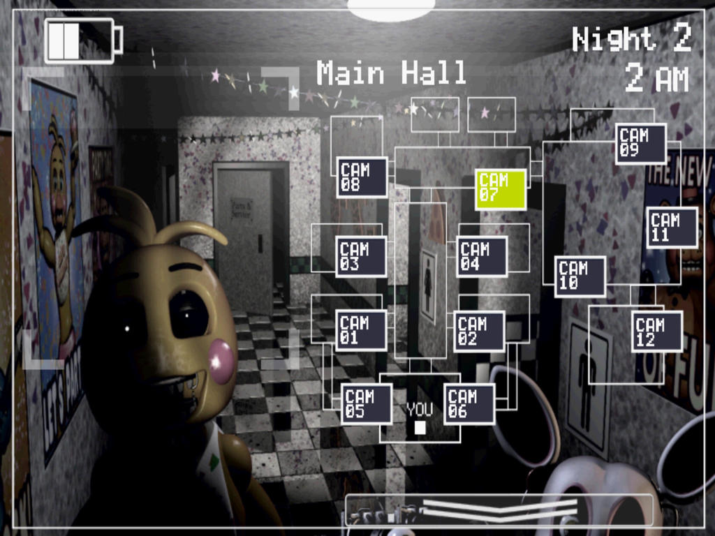 Pictures of Fnaf 2 Toy Chica Main Hall - #rock-cafe