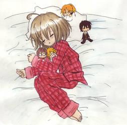 Sleeping Knox by itachinyu