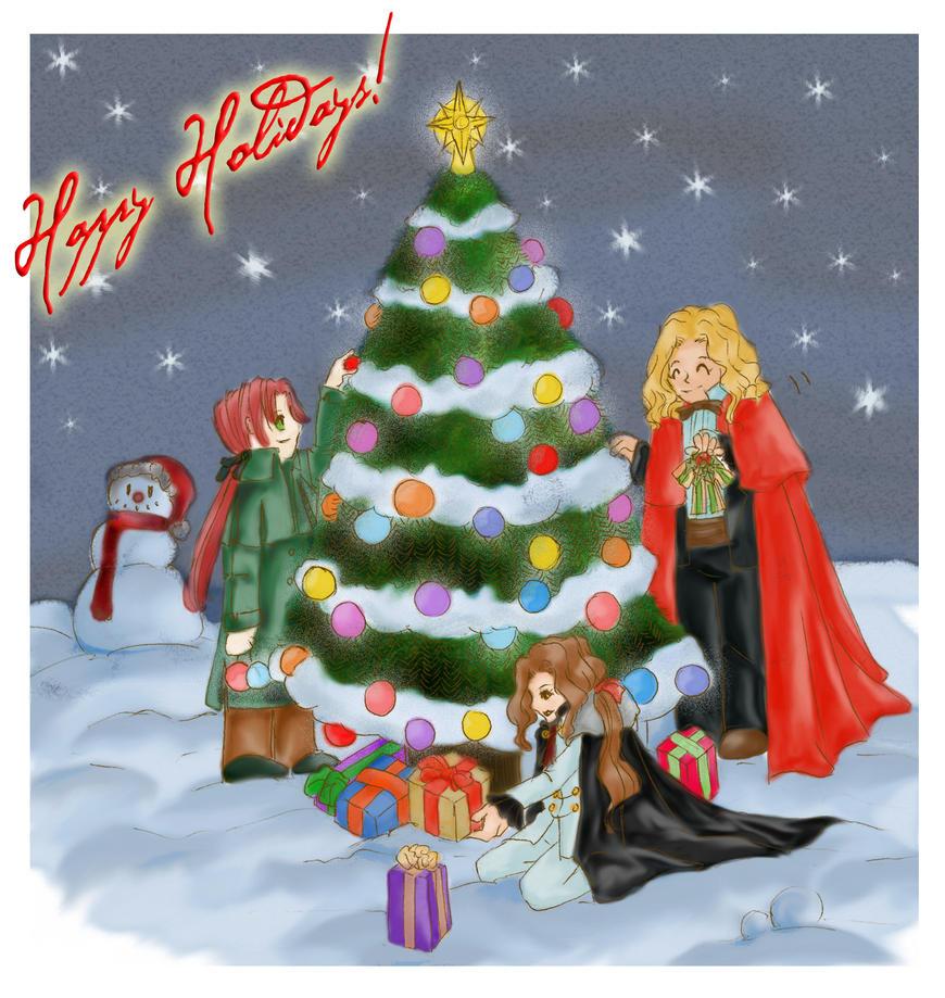 Mistletoe Holidays by SinistrosePhosphate