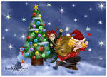 Christmas caper by SinistrosePhosphate