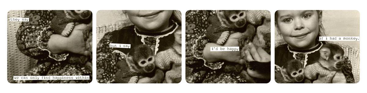 i wish i had a monkey