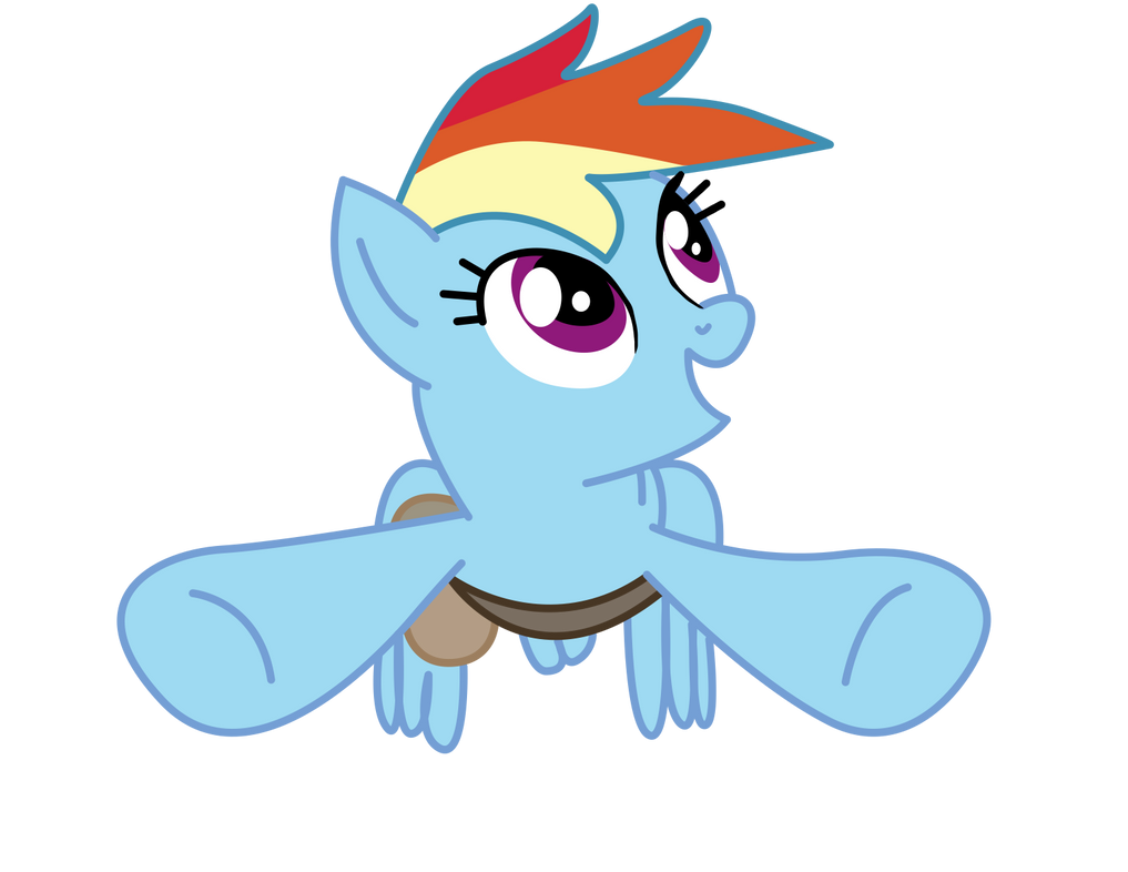 Rainbow Dash Flying Paulysentry Deviantart