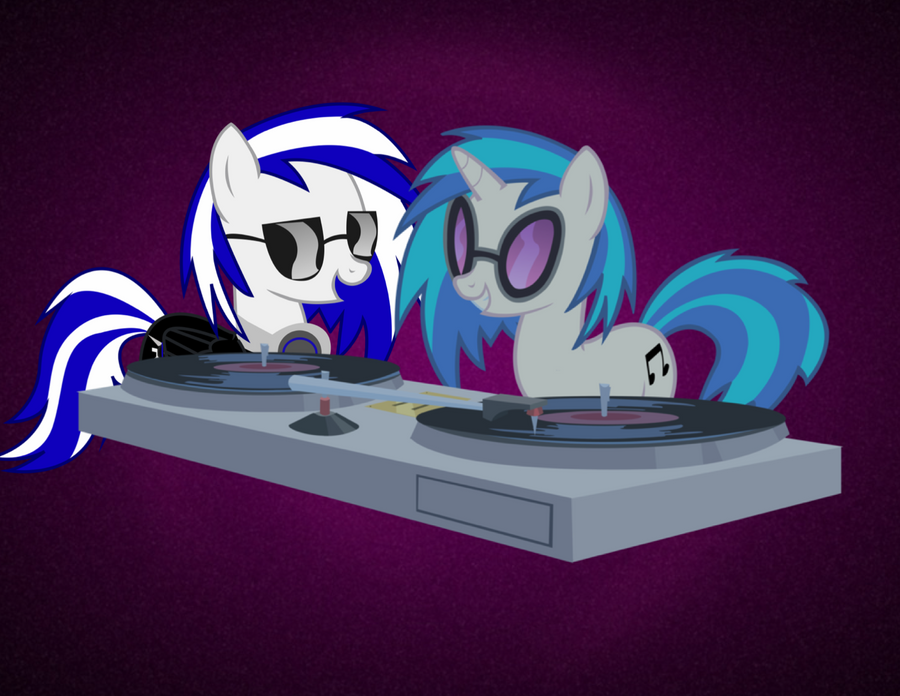 Djing Together [Commisson] by PaulySentry