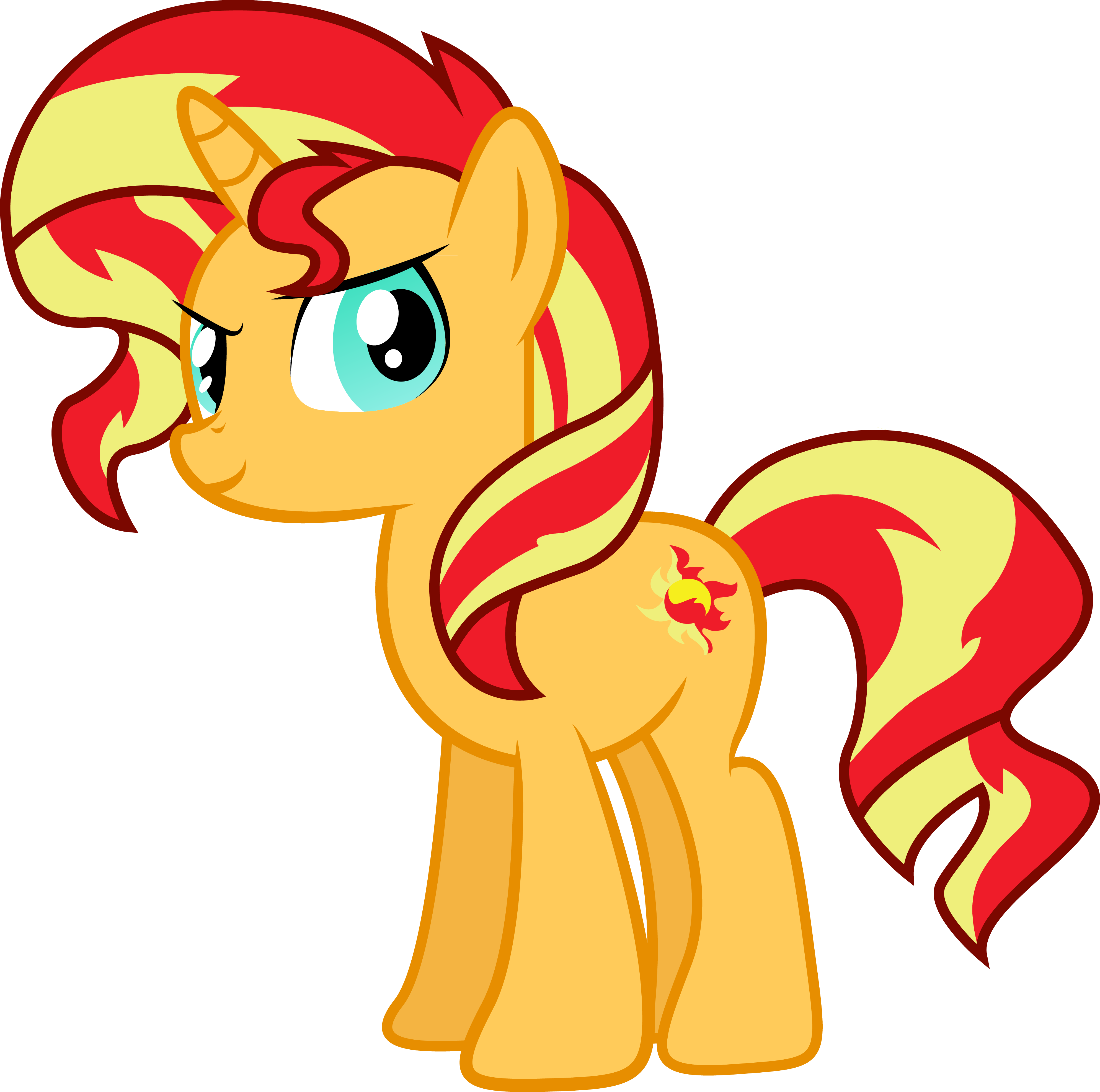 My Little Pony Coloring Pages Sunset Shimmer Image Gallery HCPR