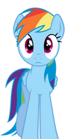 Rainbow Dash Is Looking At You