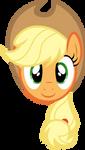 Applejack Face by PaulySentry