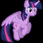 Vector: Twilight Sparkle Flying