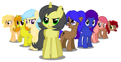 A Group of Friends by PaulySentry