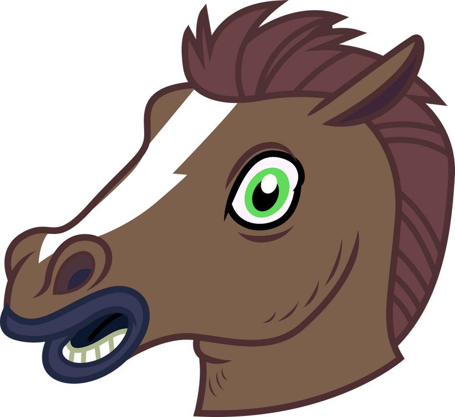 Resource - Horse Mask by PaulySentry