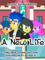 [EQG] A New Life Cover by PaulySentry