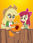 (DR) Carving up a Pumpkin by PaulySentry