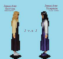 Jennifer Simpson V.S Jennifer Sutton by JengaSoft