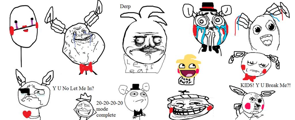 Смешные рисунки из фнаф, картинках прикольные