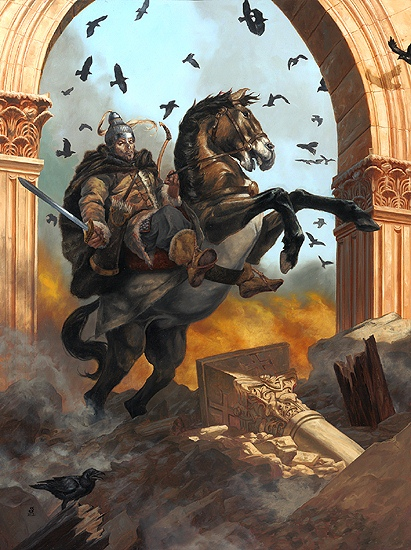 Attila the Hun by gallegosart-com
