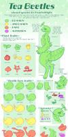 Tea Beetle species sheet [CLOSED SPECIES]